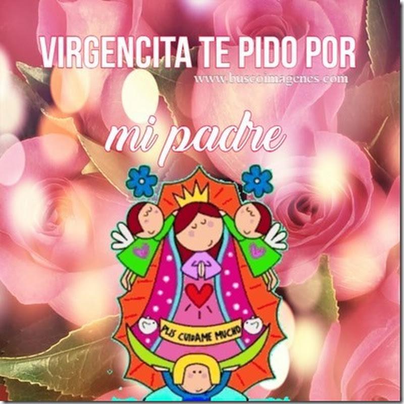 tarjetas Virgencita de Guadalupe para pedir favores