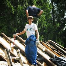 Delovna akcija - Streha, Črni dol 2006 - streha%2B109.jpg
