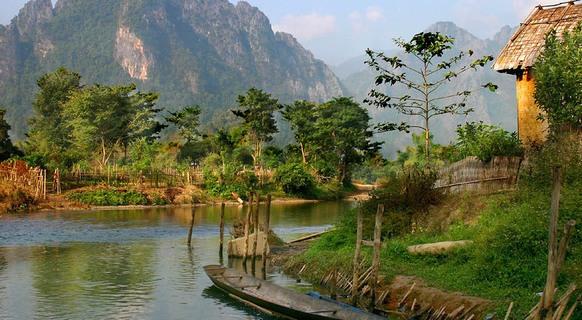 красота Лаоса