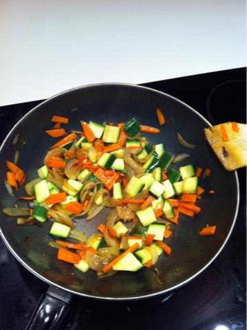 Recetas f ciles para cocinar con wok wok de calabac n con - Cocinar con wok en vitroceramica ...