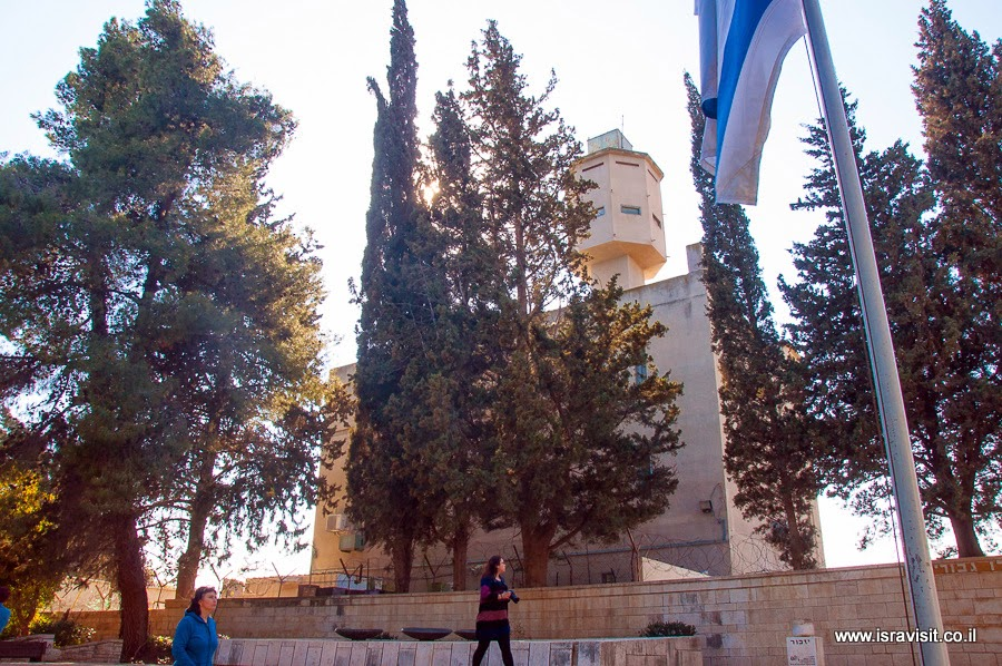 Форт Коах, Мецудат Коах или форт Наби Юша. Израиль.