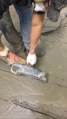 штроба в бетоне