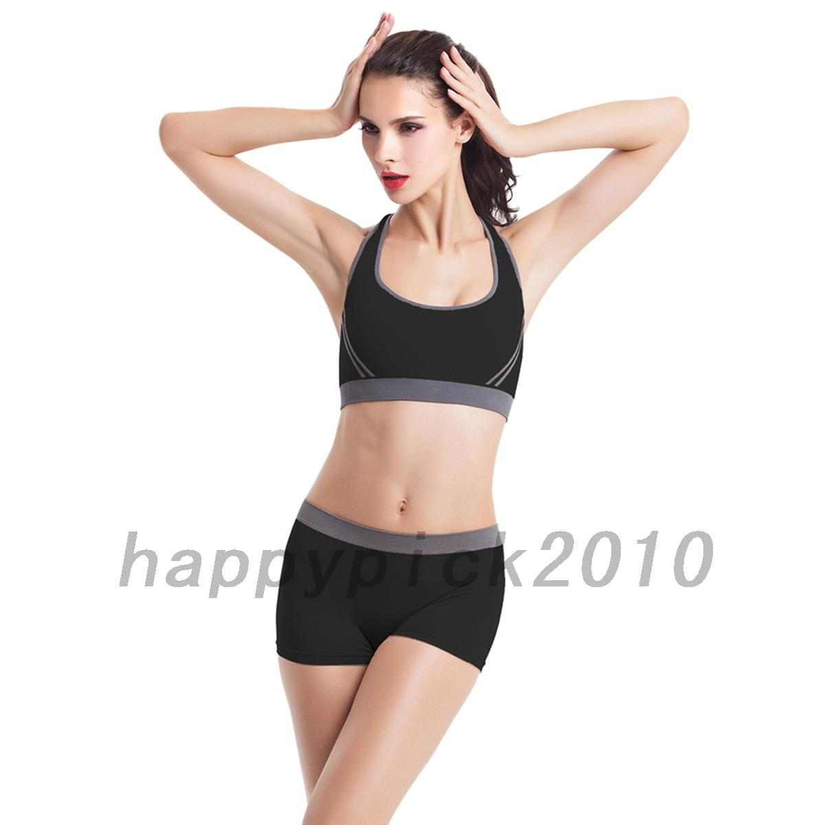 Athletic Women's Workout Tracksuit Fitness Gym Yoga Sports