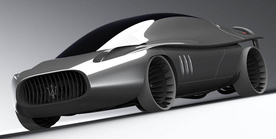 Bmw I8 Concept Maserati Quattroporte 2030