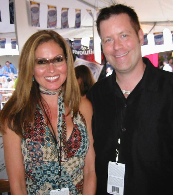 David Copeland With Maxim Babe Lisa Guerrero, David Copeland