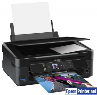 How to reset Epson SX235 printer
