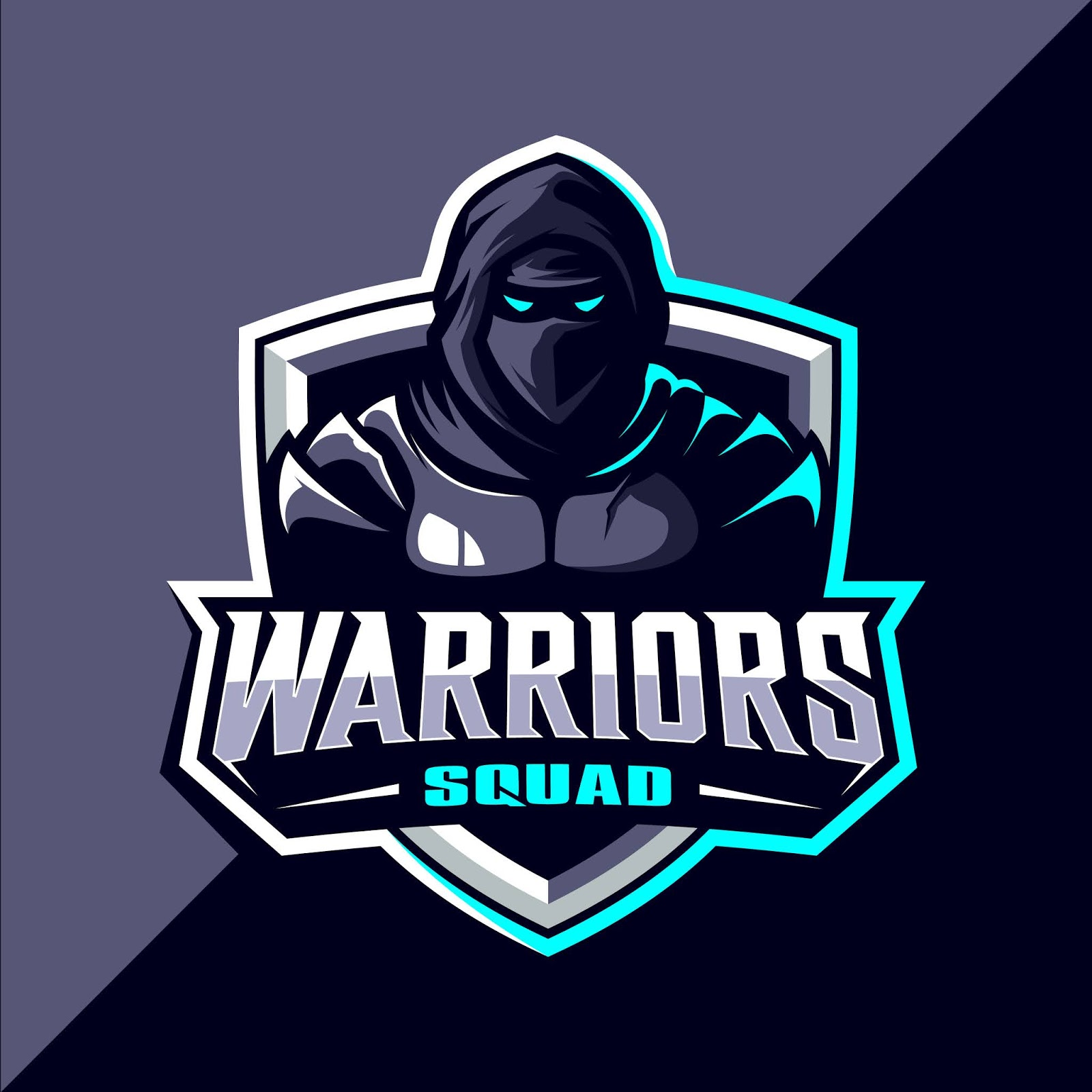 Warriors Esport Logo Design Free Download Vector CDR, AI, EPS and PNG Formats