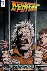 Actualización 07/02/2018: Regresa Jopemar de La Mansion del CRG y nos trae el numero 19 de Regreso al Futuro.Mientras Doc y el profesor Irving reparan en DeLorean, comienza una nueva crisis para Marty. Su tío Joey sale de la cárcel y se va a vivir a su casa.