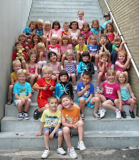Foto van onze sportkampgroep