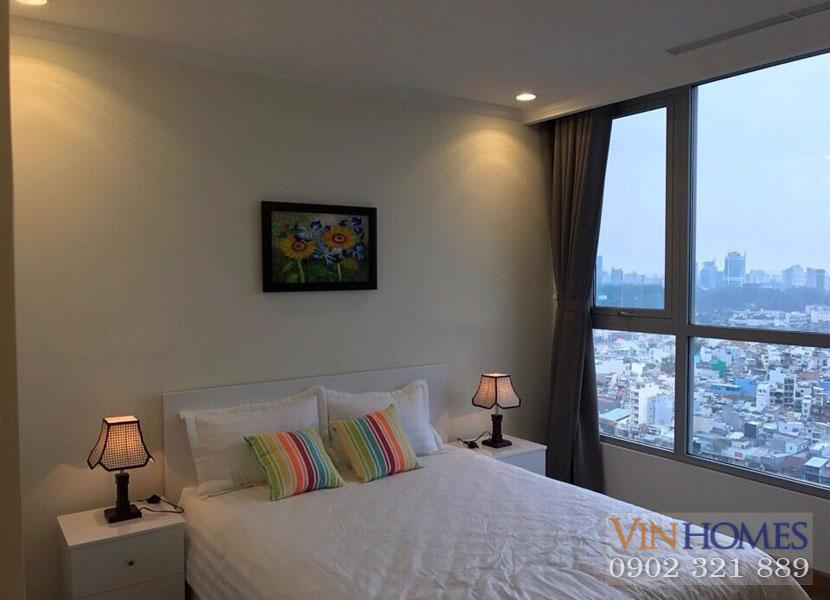 Phòng ngủ căn hộ Vinhomes Central Park