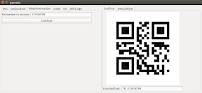 Como crear un código QR para WiFi con GQRCode en Ubuntu - 3