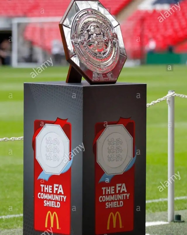 FA Confirms Date For Community Shield.
