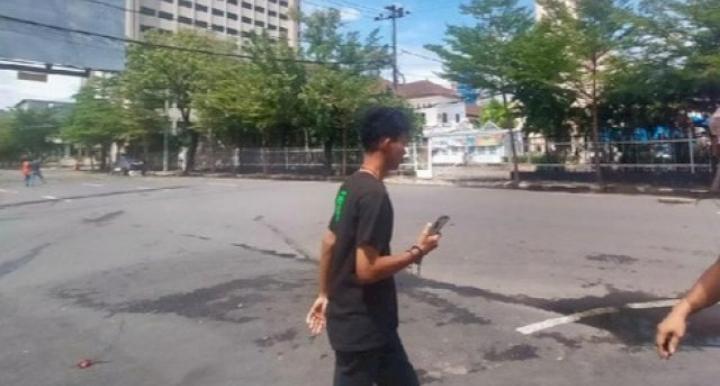 Bom Bunuh Diri Terjadi Didepan Gereja Katedral Makassar, Potongan Tubuh Berserakan
