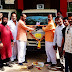 कुर्डूवाडी नगरपरिषद येथे पाच घंटागाडीचे लोकार्पण dedication of five ghanta gadi at kurduwadi municipal council
