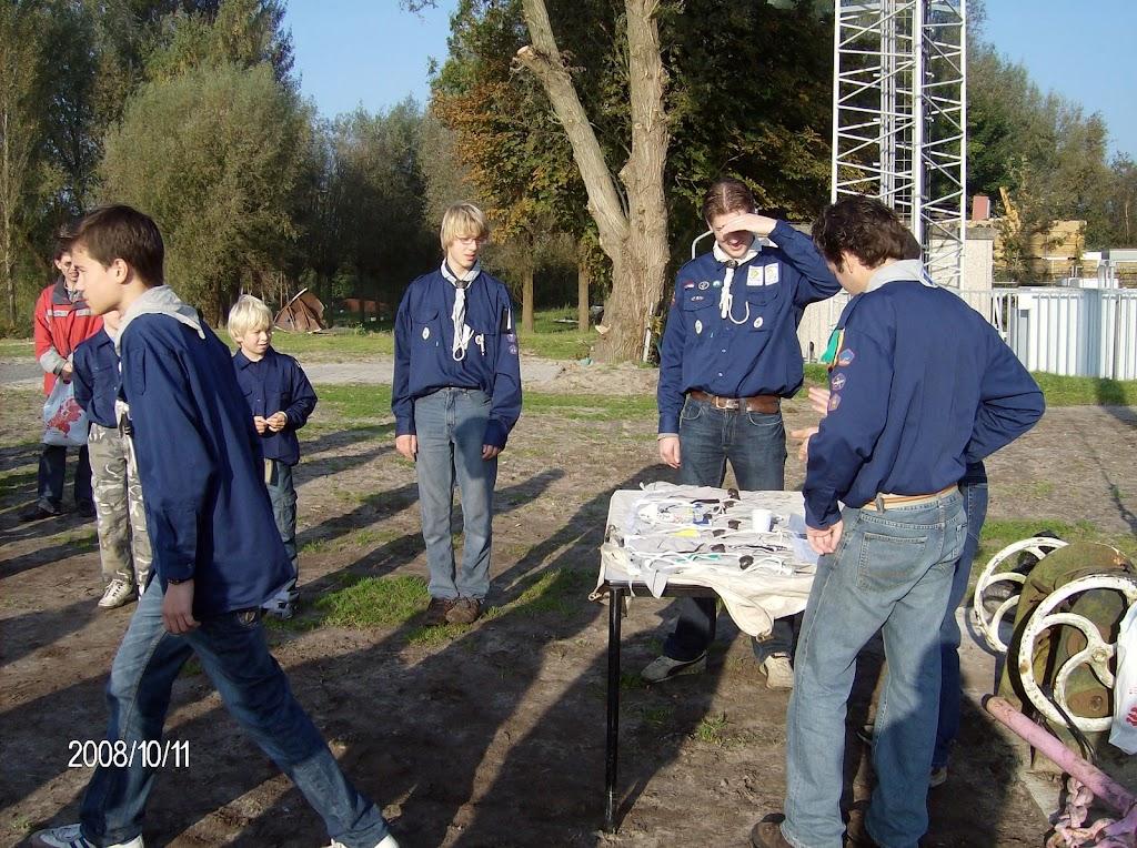 Installatie Bevers, Welpen en Zeeverkenners 2008 - HPIM2153.jpg