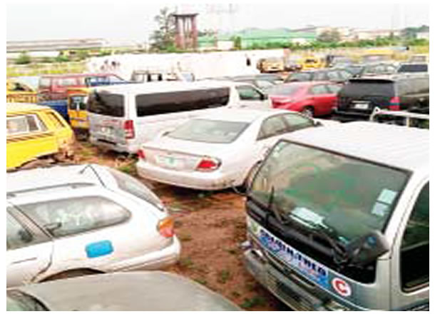 Lagos to auction 88 vehicles seized for traffic violation