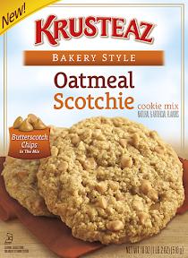 Krustez cookie mix - Oatmeal Scotchie