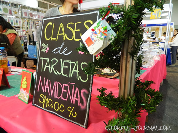 expomanualidades mega manualidades internacional lima peru feria navideña craft fair christmas