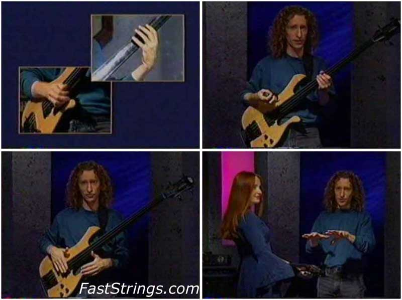 Michael Manring - Instructional Video for Bass (Starlicks Sessions)
