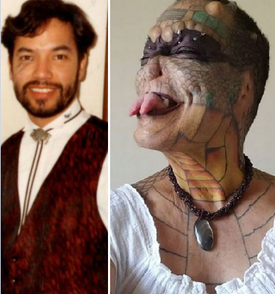 Banker who spent £61,000 to become 'human dragon' now wants too cut off pen!s