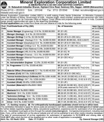 MECL Recruitment 2017 www.indgovtjobs.in