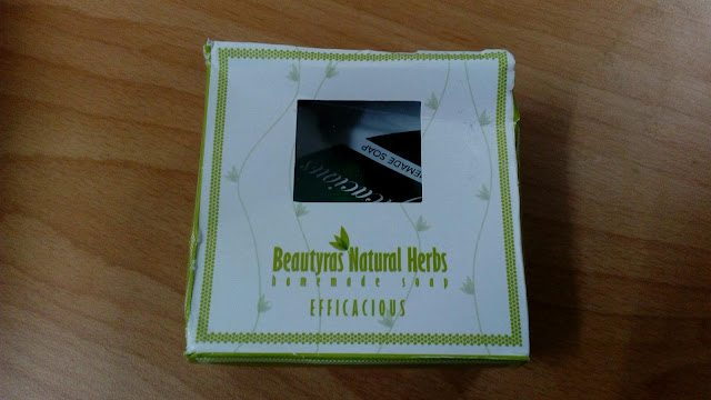 Sample Sabun Efficacious dari Beautyras Natural Herbs.