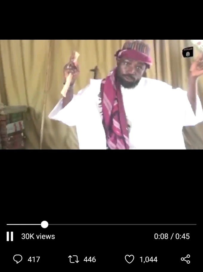 See Nigerian's Reactions As Shekau Release New Video In English