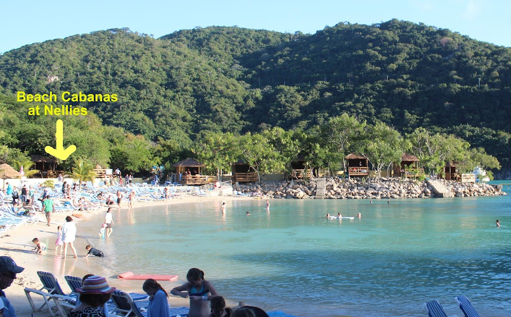 Location Of Beach Cabana At Nellie S Beach Zla6 Cruise Critic Message Board Forums