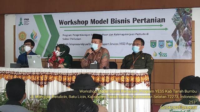 Workshop Model Bisnis Pertanian Program YESS Kementan di Tanah Bumbu