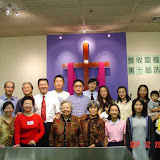 10th Baptism Ceremony, 17 people baptized, at Bread of Life Church in Flushing. 2004-09-12 豐收靈糧堂第十屆受洗