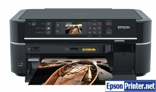 How to Reset Epson TX650 lazer printer – Reset flashing lights error