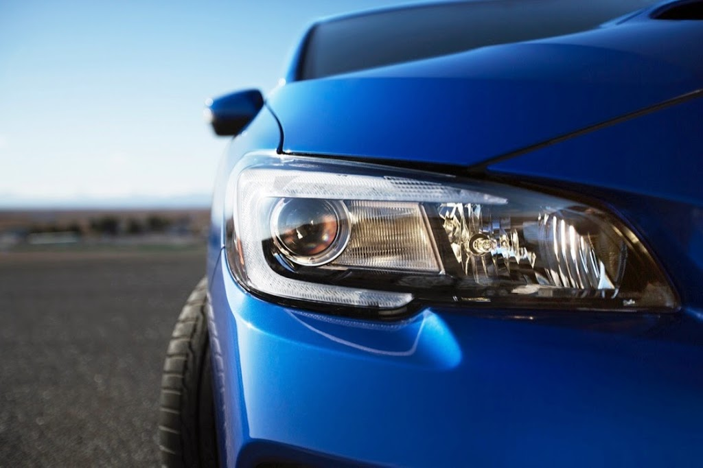 2015 Subaru WRX STI Launch Edition fr lamp