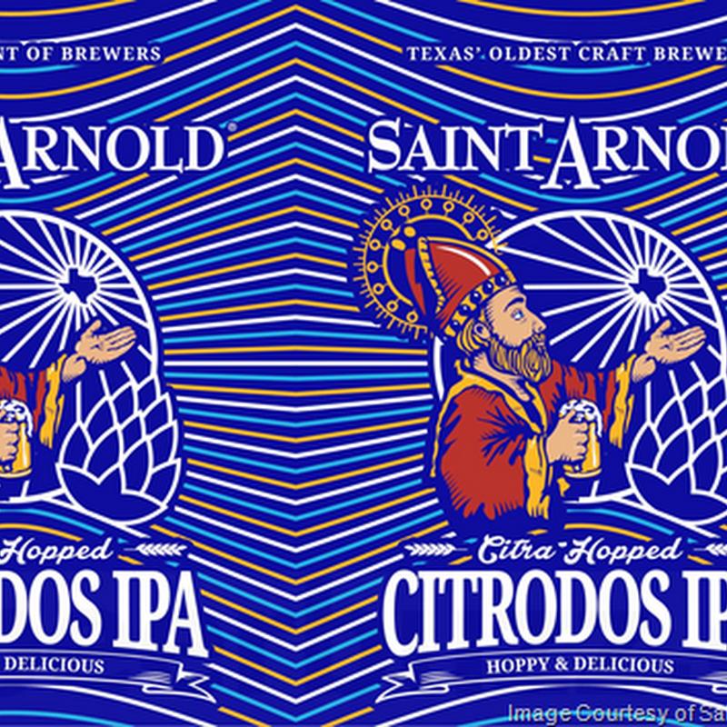 Saint Arnold Adding Citrodos IPA Cans