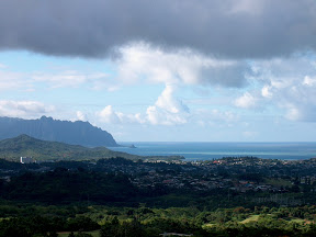 Southeast shore of Oahu, with Chinaman's Hat
