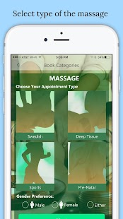 Massage Clicks -Mobile Massage- screenshot thumbnail