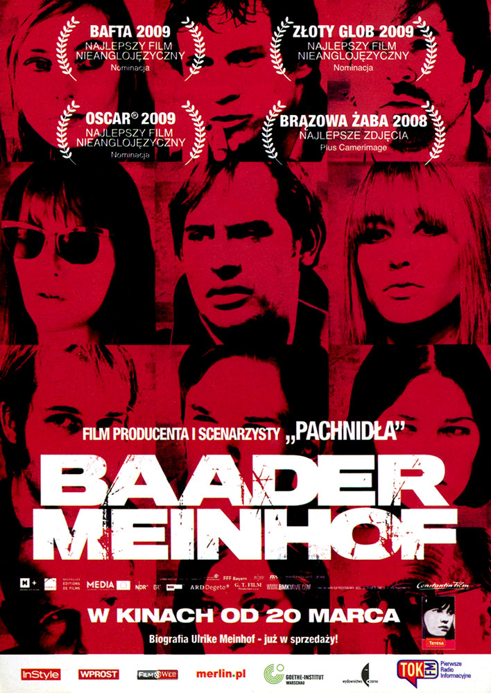 Ulotka filmu 'Baader-Meinhof (przód)'