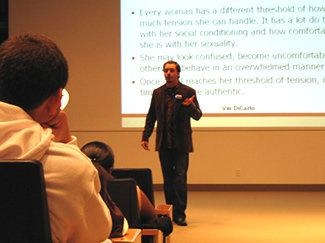 Vin Dicarlo Pua At Seminar, Vin Dicarlo