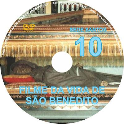 DVD VIDA DE SÃO BENEDITO