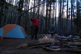 Babcock Lake camping