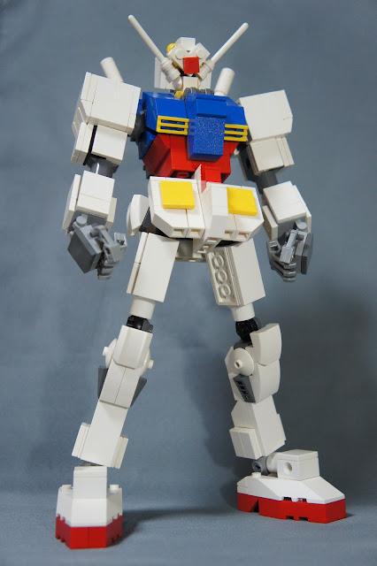LEGOでガンダム | タリーズのぶひこの好きでやってんじゃねーよ。