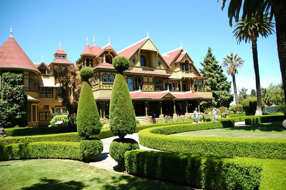 Winchester Mystery House House That on electric forced air