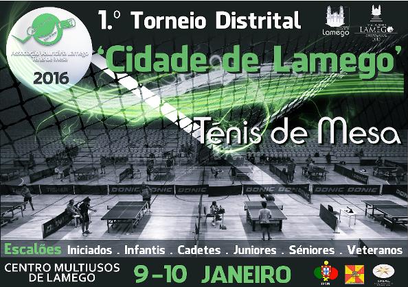 """Torneio de Ténis de Mesa """"Cidade de Lamego"""" junta várias gerações"""