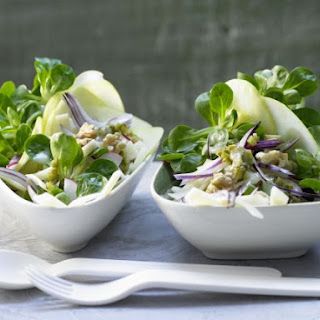 Lamb's Lettuce Salad with Emmentaler Cheese