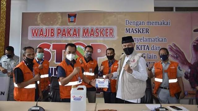 Pemko Padang Didukung Satgas Bencana Nasional BUMN Sumbar
