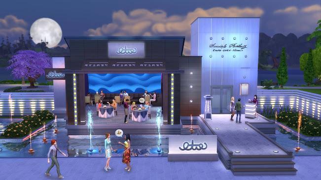 De Sims 4 Uit Eten restaurant