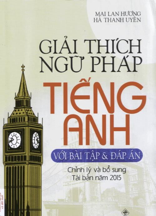 Giải thích Ngữ pháp tiếng Anh (Mai Lan Hương)