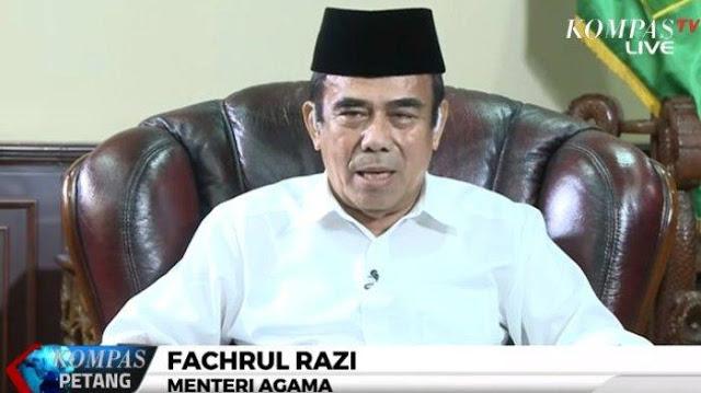 Ini Terobosan Menteri Agama Fachrul Razi: Menindak Tegas Ustadz yang Menimbulkan Perpecahan Bangsa
