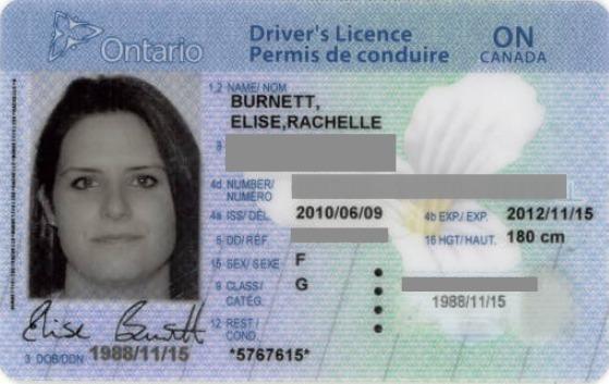 Fake Ontario Drivers License Template - sevenvt