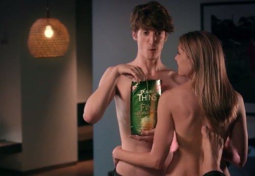 "Potato Thins Commercial ""Handsfree"""