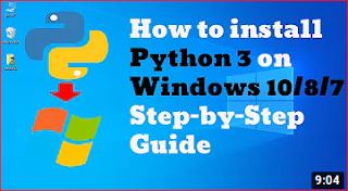 How to install python 3.9(3.8) on windows 10 tutorial | 2020